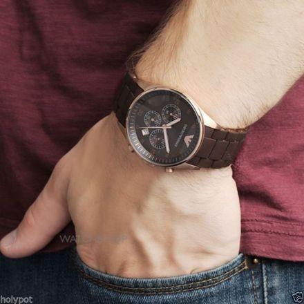 b581678a61b4 Reloj Emporio Armani Ar5890 Para Hombre - Marrón Original - S  549 ...