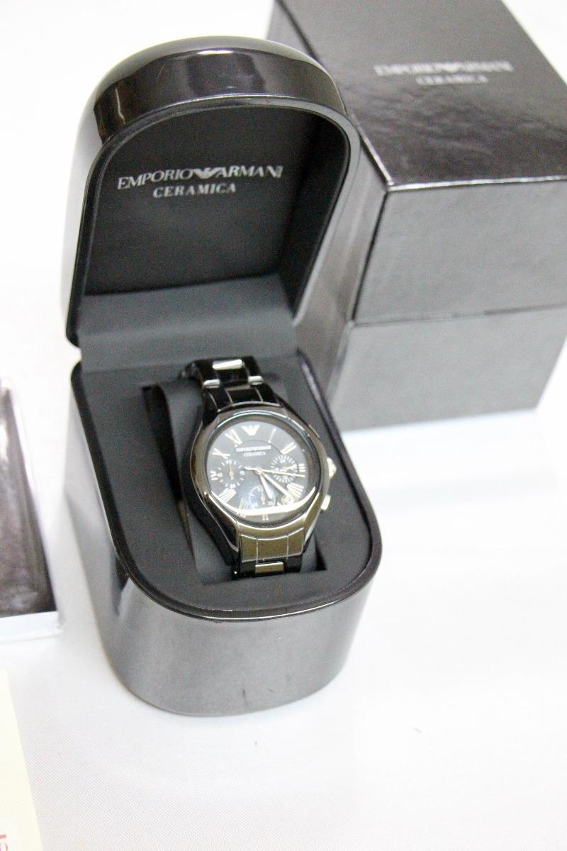 0ade2e4f78e0 reloj emporio armani cerámica ar1401 dama alta calidad. Cargando zoom.