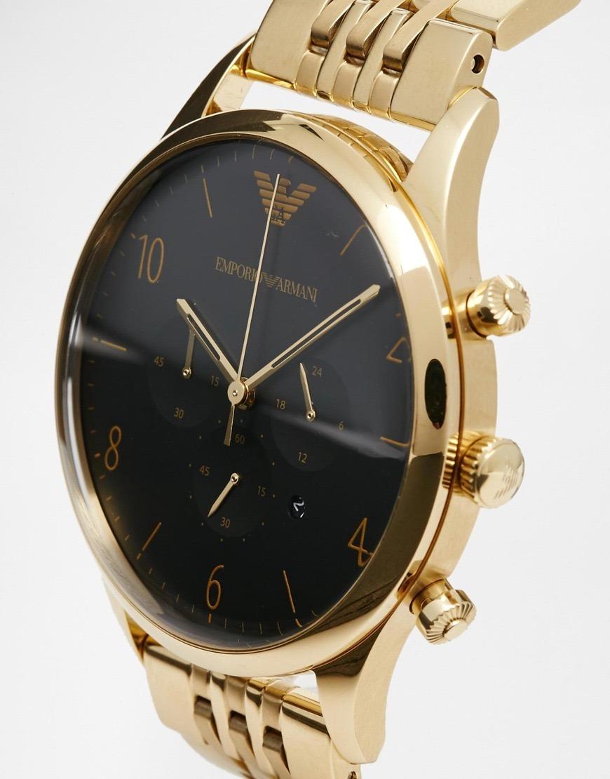 591b26412485 reloj emporio armani hombre ar1893 cronógrafo envío gratis!! Cargando zoom.