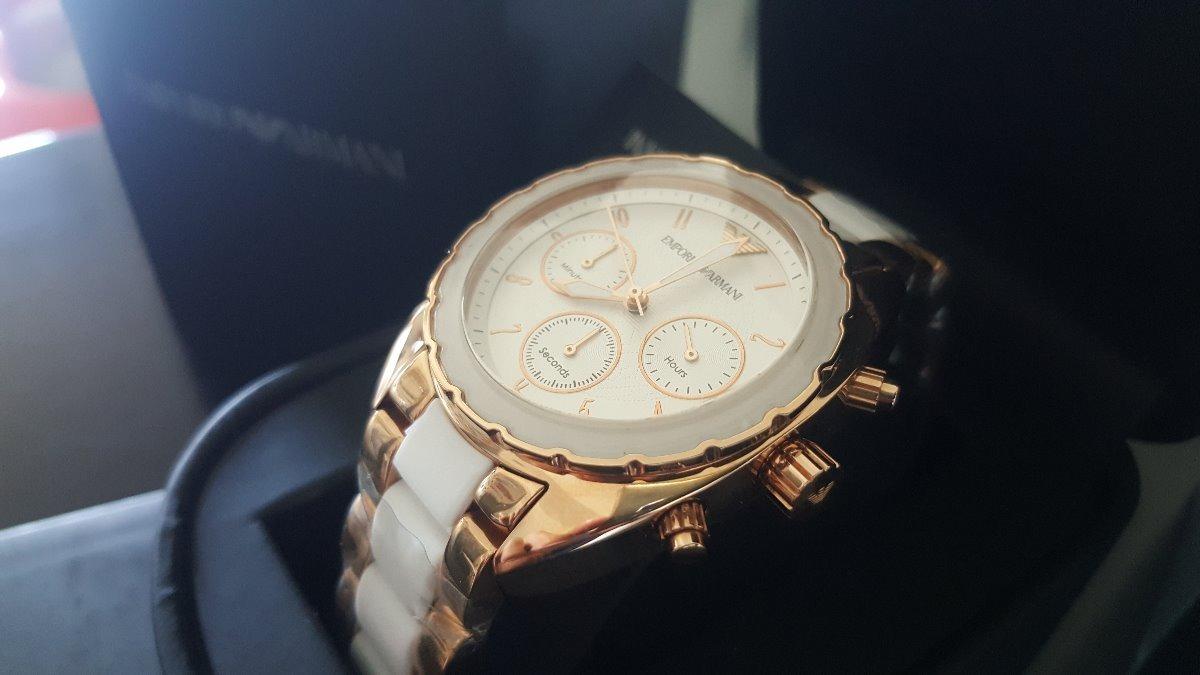 515a254ca6fd reloj emporio armani mujer ar5942 - stock ya! Cargando zoom.
