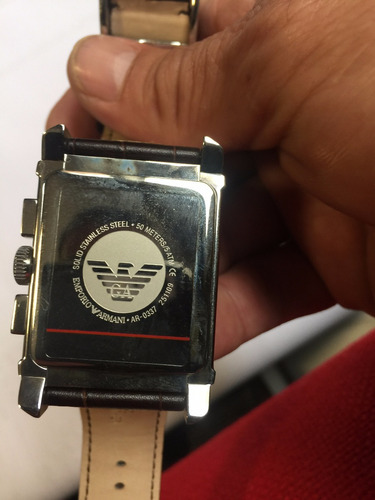 reloj emporio armani, nuevo y original