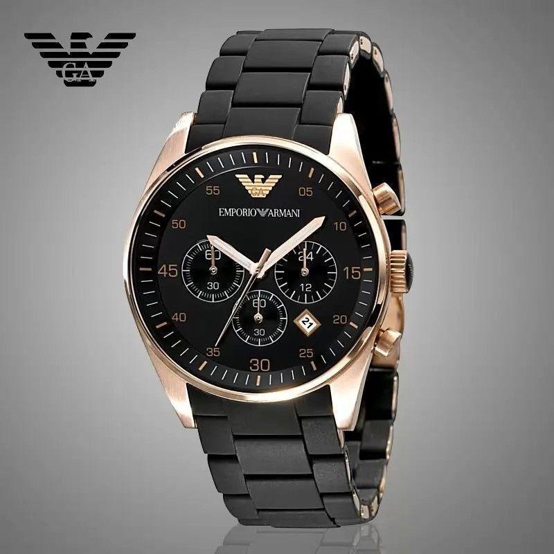 f489824a0803 reloj emporio armani para hombre ar5905 color oro. Cargando zoom.