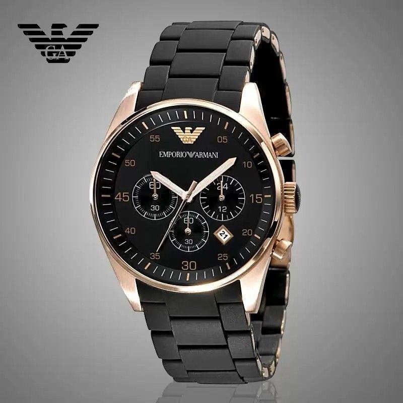 99bad512d818 reloj emporio armani para hombre ar5905 color oro. Cargando zoom.
