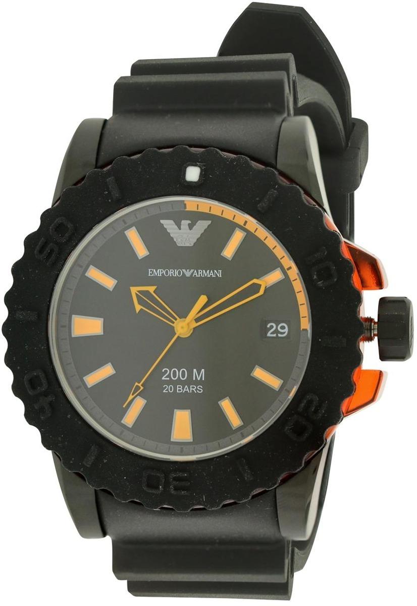 6f5996b0b579 Reloj Emporio Armani Para Hombre Ar5969 Con Correa De Goma ...