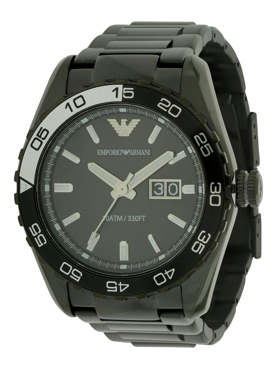 b5c33e304283 Reloj Emporio Armani Para Hombre Ar6049 Deportivo Negro -   1.317.111 en  Mercado Libre