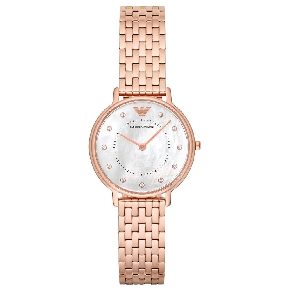 de9361caee75 reloj emporio armani para mujer ar11006 de 32mm color oro. Cargando zoom.