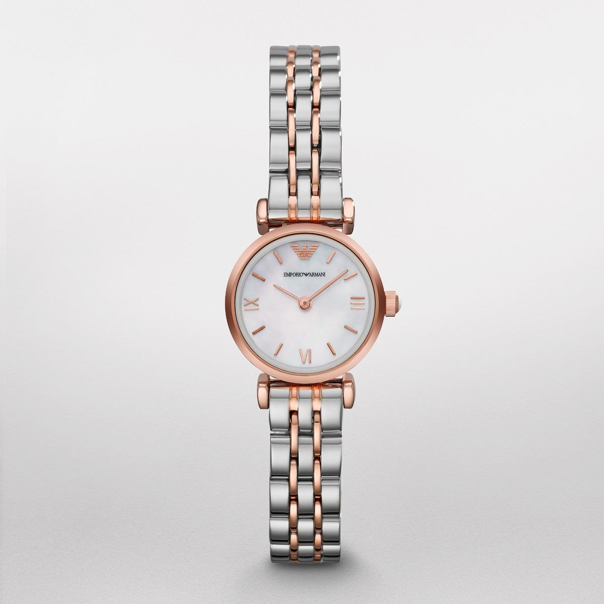 6ac91dfc0bf5 Reloj Emporio Armani Para Mujer (ar1764) Acero Inoxidalbe -   1.049.550 en  Mercado Libre