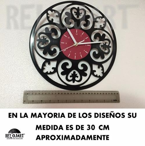 reloj en disco de acetato deadpool - increible y original