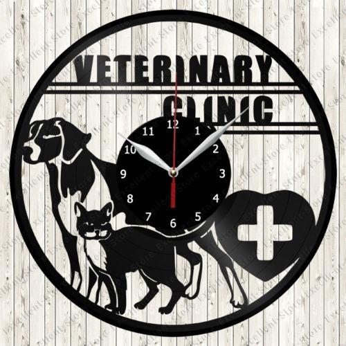 En Reloj De Vinilo Disco Veterinaria F1cJlTK3