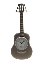 reloj en forma de guitarra acustica