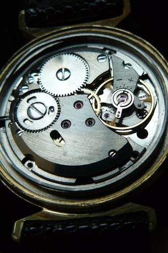 reloj en oro aleman stowa 17 rubi a cuerda año 60 mecanico