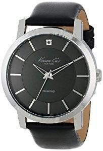 reloj es kenneth cole hombre con un diamante 100% originales