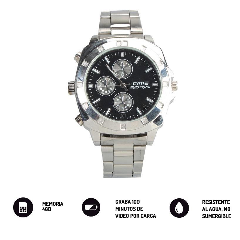 50ad9774e216 reloj espia 4gb malla metalica microfono camara oculta mc06e. Cargando zoom.