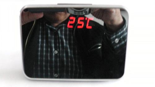 reloj espía, ang.140` graba 7 horas,  detección movimto