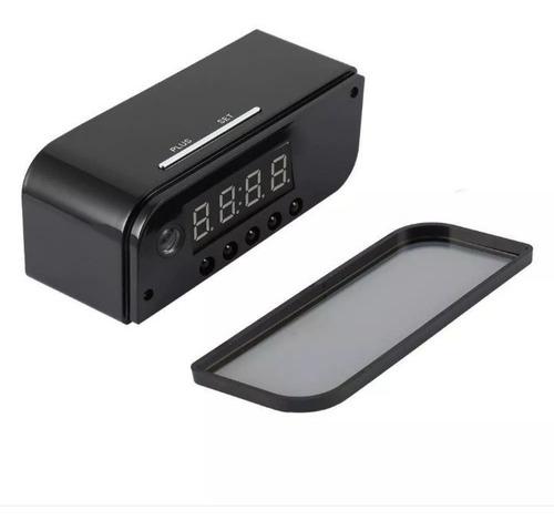 reloj espía wi-fi 1080p vision nocturna sensor de movimiento