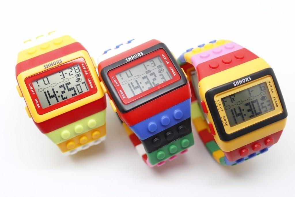 Reloj Estilo Lego Super Diferentes Colores 108 98 En
