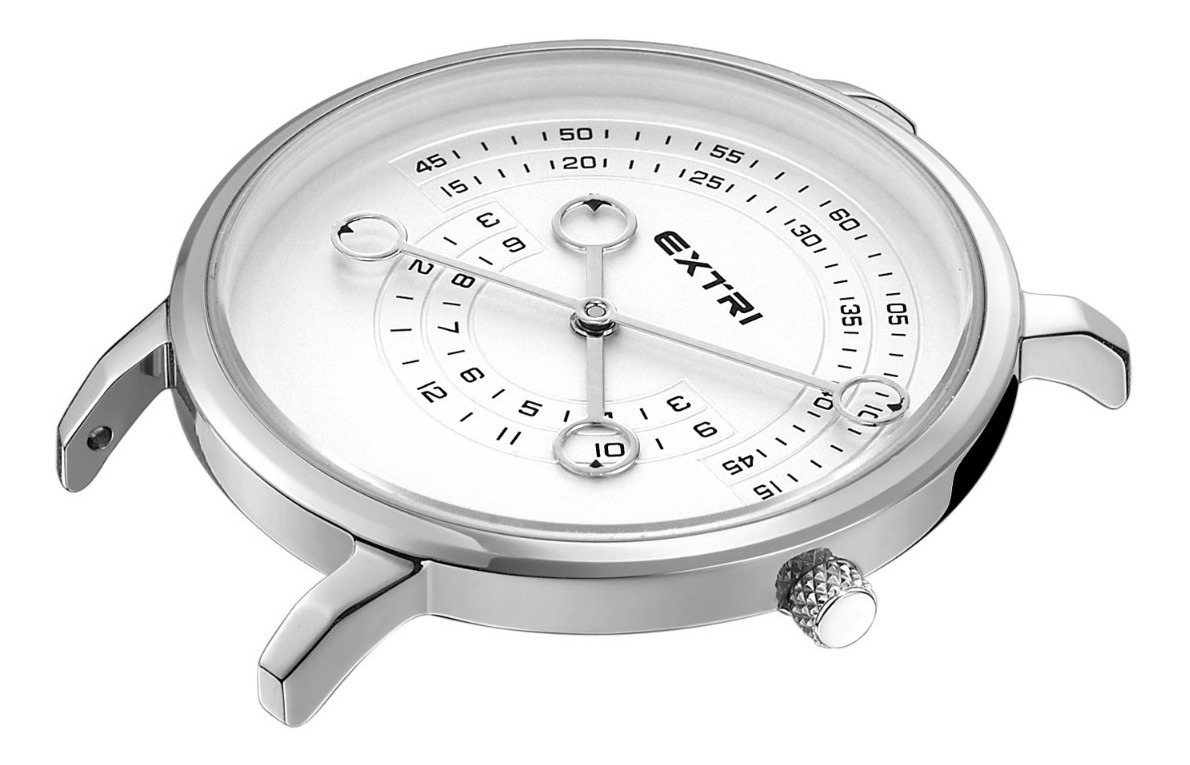 Reloj Acero Malla Extri X3017swms Mujer Dama n0Nmv8w