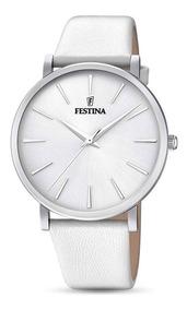 F203711 Reloj Blanco Mujer Boyfriend Festina Collection eIYDHE9bW2