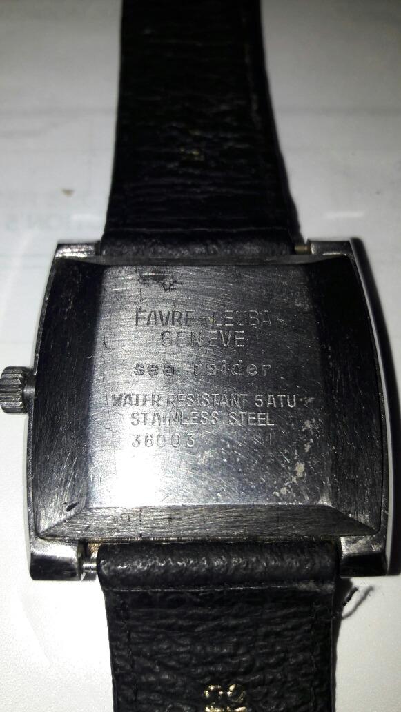 755696034585 Reloj Favre Leuba Sea Rider 36000 -   5