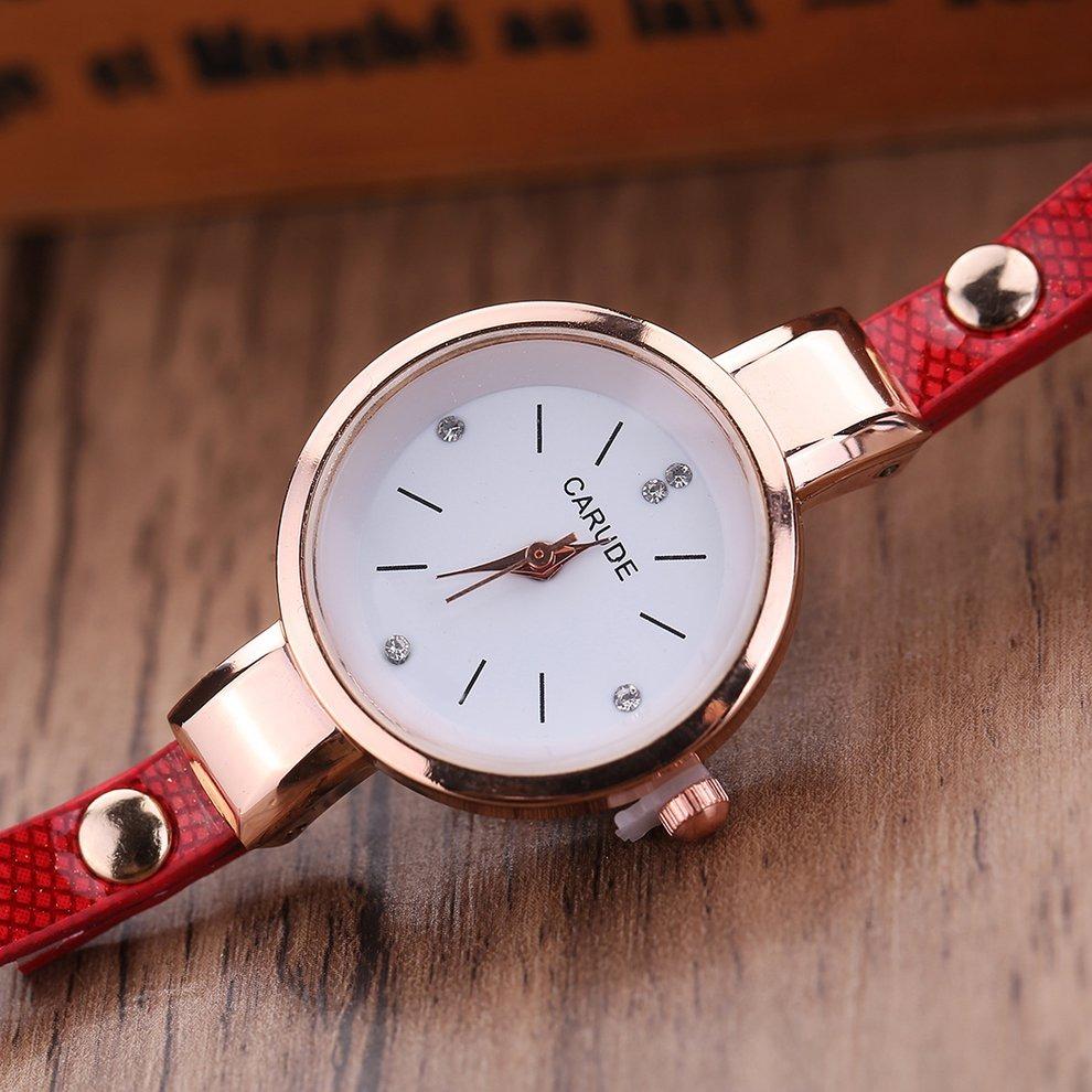 0cd71c7227b0 reloj femenino moda metal círculo pendiente casual impermea. Cargando zoom.