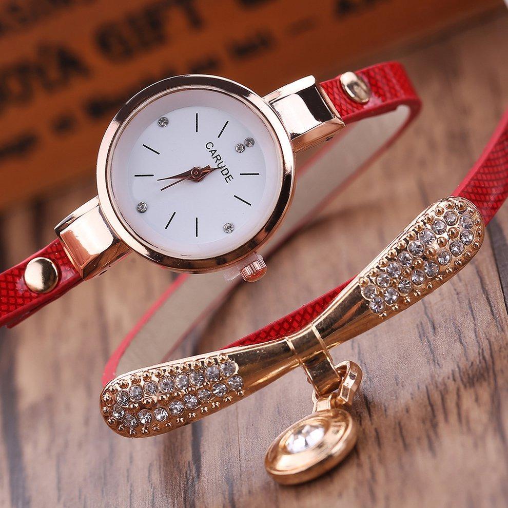be69183b14da reloj femenino moda metal círculo pendiente casual impermeab. Cargando zoom.