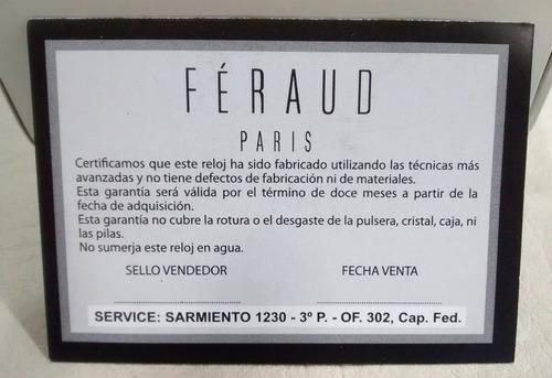 reloj feraud caballero -lf lf8