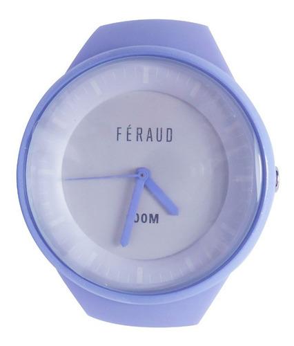reloj feraud f100m8-02 mujer sumergible 100m silicona
