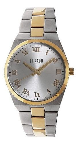 reloj feraud lf20057gcd hombre acero inoxidable combinado