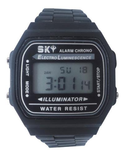 reloj feraud skinny81ne digital negro