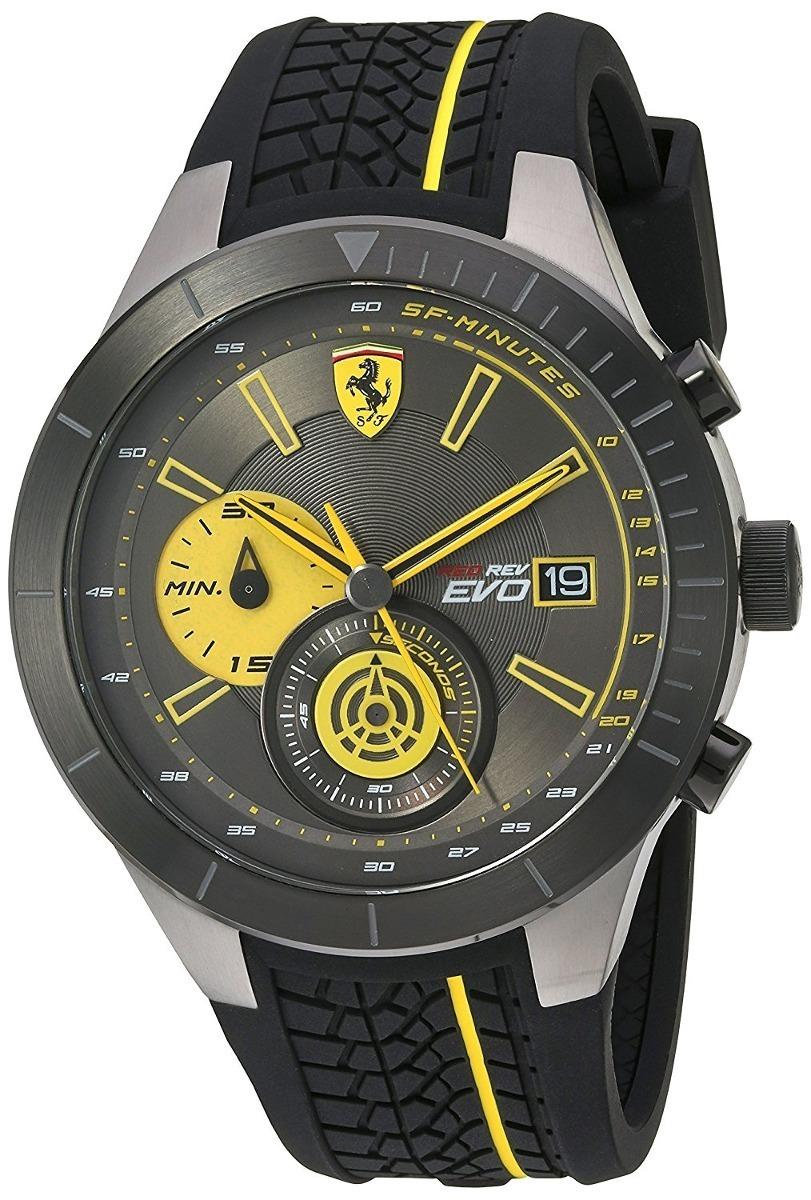fb7922f94233 reloj ferrari 830342 scuderia ferrari silicona ngo amarillo. Cargando zoom.