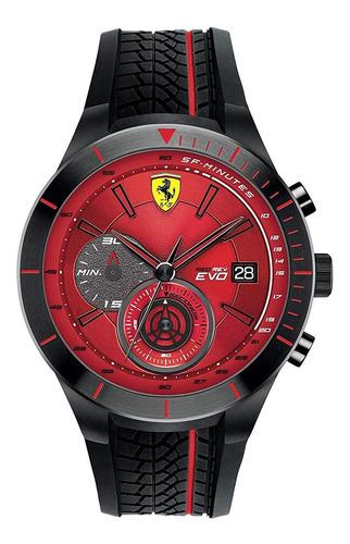 reloj ferrari caballero color negro 0830343 - s007