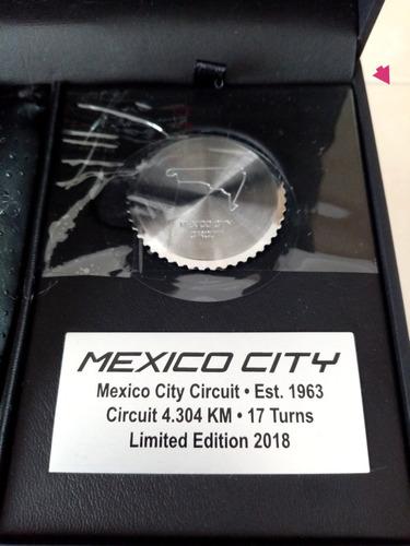 reloj ferrari del gran premio de mexico f1