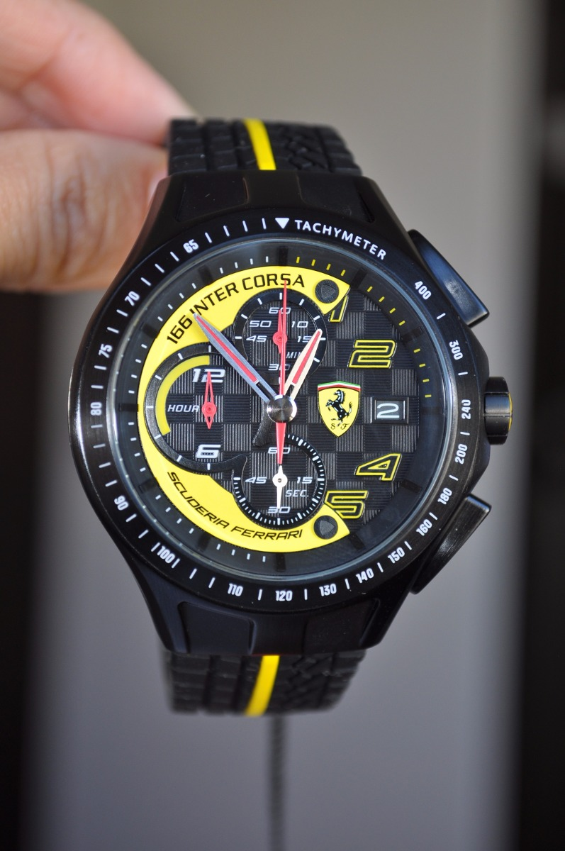 Reloj Ferrari Original Modelo 0830078 Envio Gratis