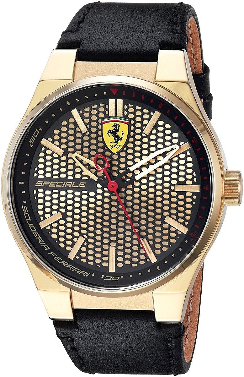 e0001ab65b06 Reloj Ferrari Para Hombre 0830415 Color Negro oro