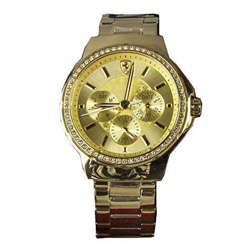 d494290e546a Reloj Ferrari Para Mujer 820016 Color Dorado