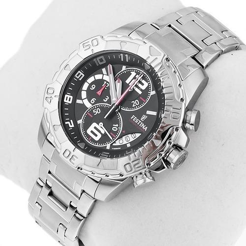 reloj festina chronograph f16358/6 hombre   envío gratis