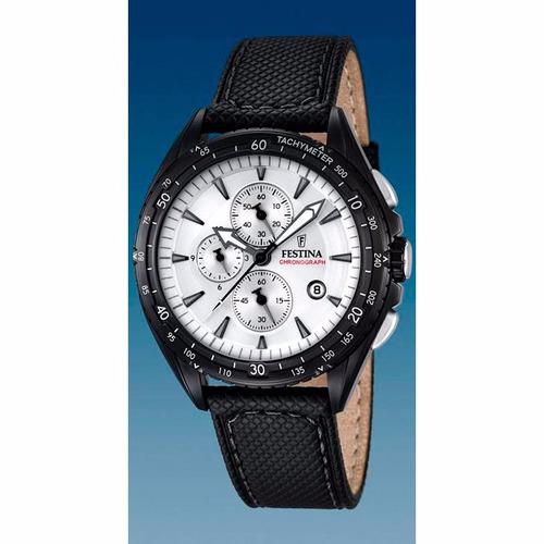 reloj festina chronograph f16847/1 hombre   envío gratis
