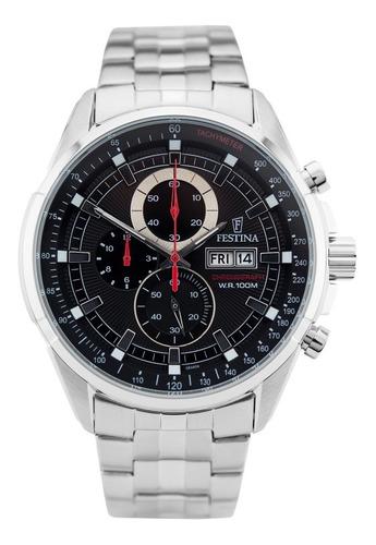 reloj festina chronograph w.r.100m