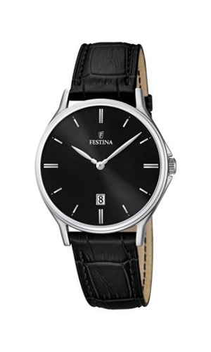 reloj festina classic f /5 mens wristwatch classic & simple