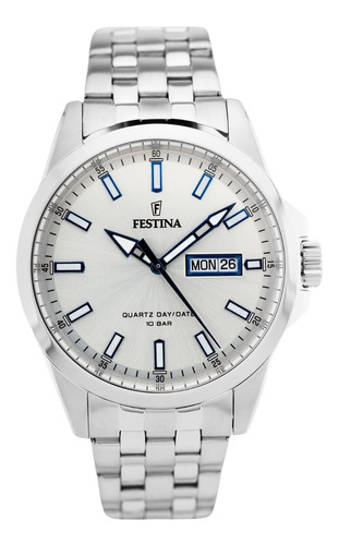reloj festina de hombre doble calendario f20357