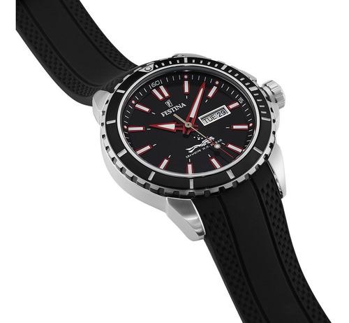 reloj festina diver ideal para buceo caballero 200m f20378
