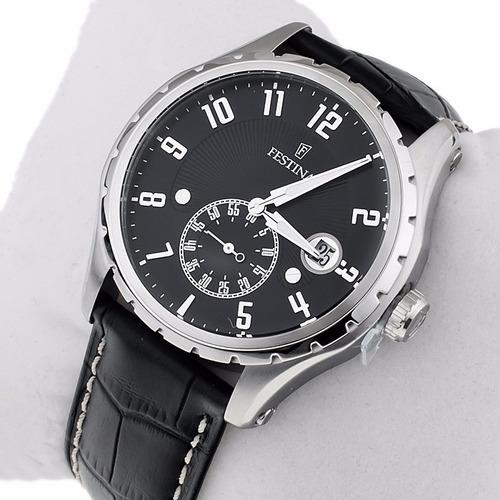 reloj festina f16486 fondo b y n  env. gratis tienda oficial