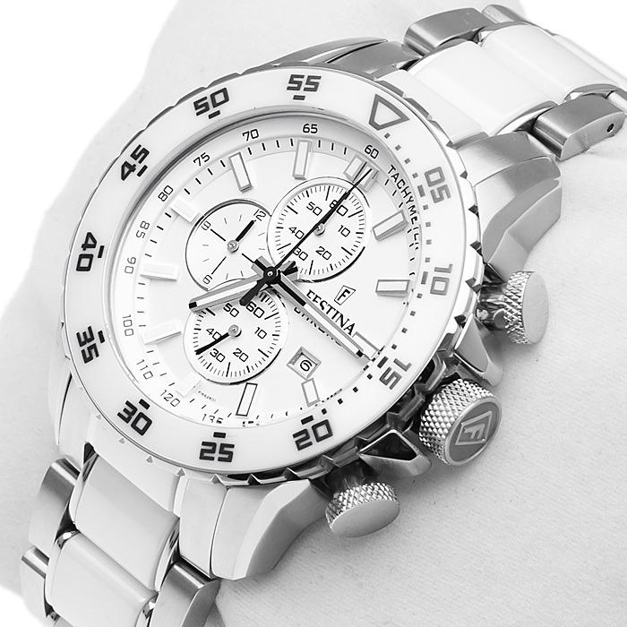 a00447aab6a7 Reloj Festina F16628.1 Hombre Cerámica Blanco -   24.249