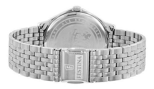 reloj festina f16744/3 hombre acero inoxidable clásico