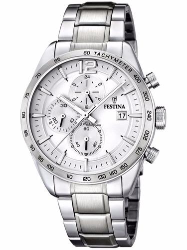 reloj festina f16759.1 / .3 / .4 crono hombre envió gratis