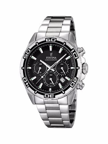 reloj festina f16766.1/2/3/4 crono, 50m envio gratis.