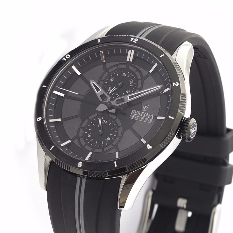 7c1437016a6d Reloj Festina F16841 Sport Multifuncion Acero Malla Caucho -   4.000 ...