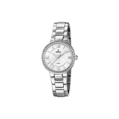 reloj festina f20220/1 mujer acero inoxidable y circones