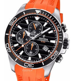 Cronografo Festina Bar Carcasa Reloj Acero 10 F20370 Pvd 7gvYbf6y