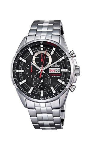 7c3efd191e10 Reloj Festina F6844  4 Cronógrafo Hombre - Acero Inoxidable ...